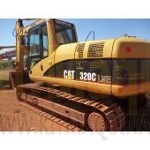 Escavadeira Caterpillar 320C Usada